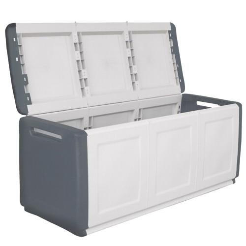 kunststoffbox gartenbox auflagenbox aufbewahrungsbox ger tekiste gro cube line ebay. Black Bedroom Furniture Sets. Home Design Ideas