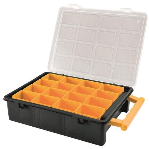 kunststoffbox sortimentkiste schraubenkiste werkzeugkiste schraubenbox box gro. Black Bedroom Furniture Sets. Home Design Ideas