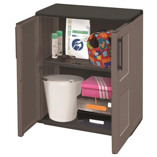 kunststoffschrank gartenschrank werkstattschrank schrank klein free line ebay. Black Bedroom Furniture Sets. Home Design Ideas