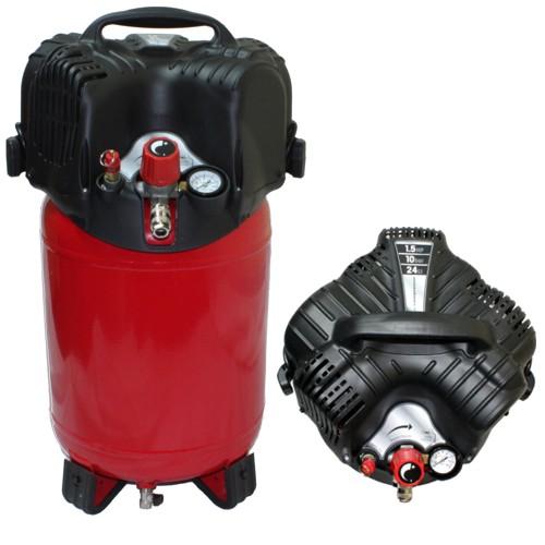 kompressor standkompressor 10 bar 24 liter tank twenty lfrei bware ebay. Black Bedroom Furniture Sets. Home Design Ideas