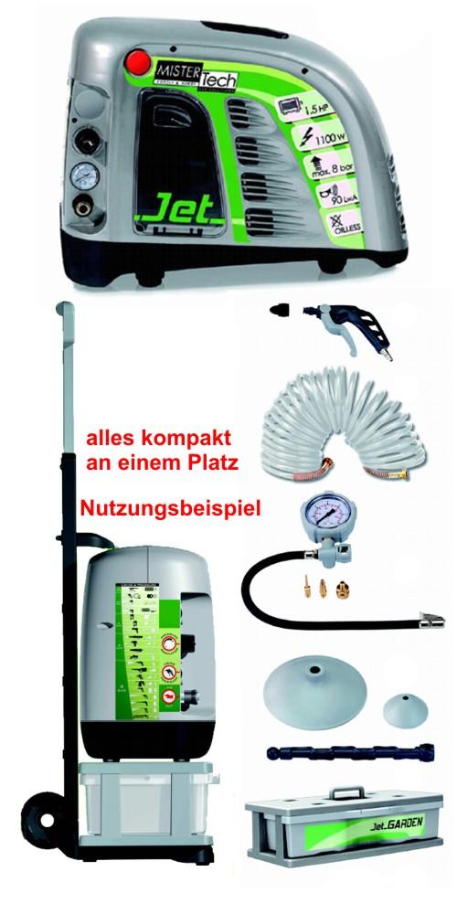 Kompressor Mit Zubehör : kompressor fahrbar lfrei montagekompressor jetair mit ~ Watch28wear.com Haus und Dekorationen